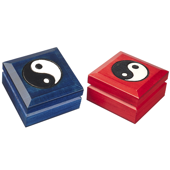 Yin-Yang Large - Polish Wooden Box
