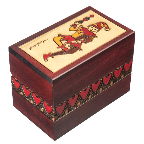 Joker - Polish Wooden Box