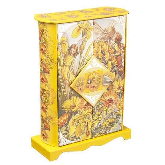Yellow Fairy Paper Box