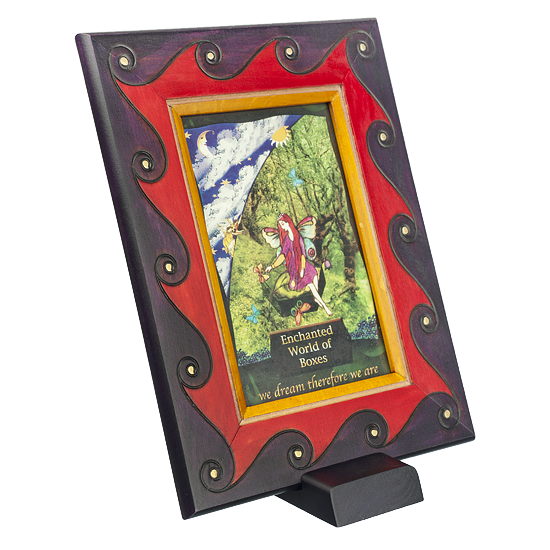 Earthly Delights - Frame - Polish Wooden Box