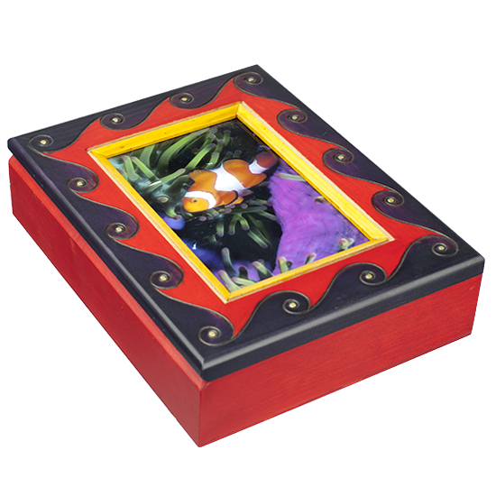 Earthly Delights - Frame Box - Polish Wooden Box