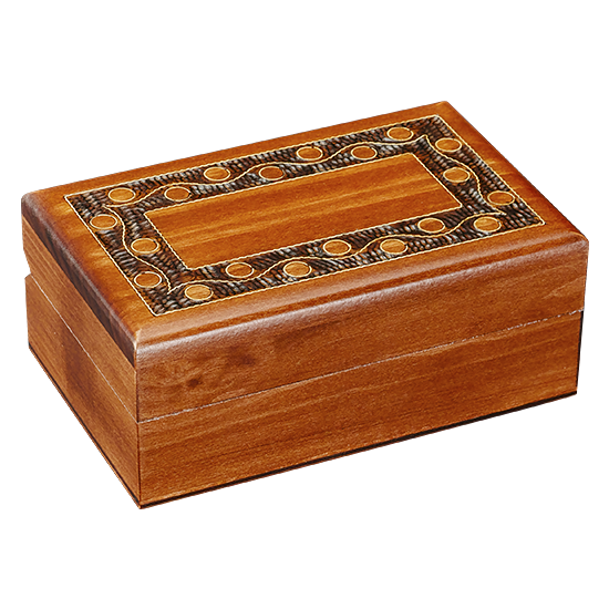 Smokey Beads - Polish Wooden Box