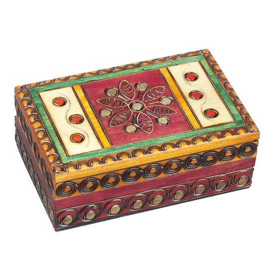 Garden Flower - Polish Wooden Box