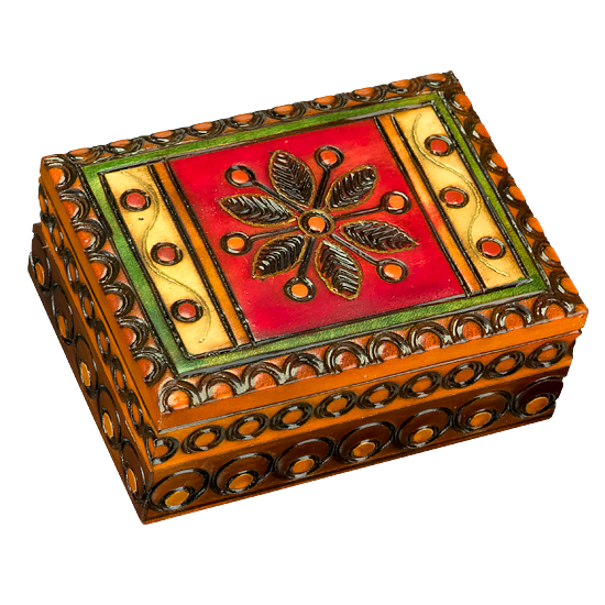 Mini Garden Flower - Polish Wooden Box