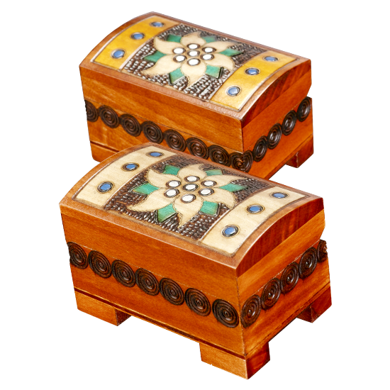 Mini Star of the Mountains Chest - Polish Wooden Box