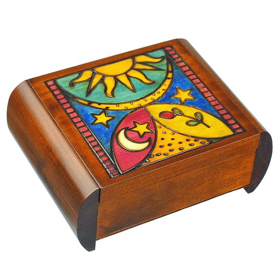 Heaven & Earth Secret - Polish Wooden Box