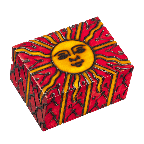 Surya - Polish Wooden Box