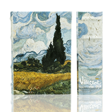 Wheatfield with Cypresses (Safe Box)