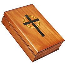 Book Shaped Bible & Cross Box