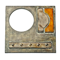 Braque Metalwork Mirror