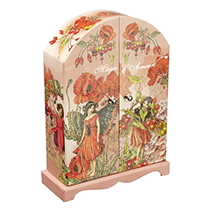 Pink-Red Fairy Paper Box