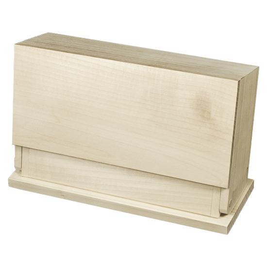 Organizer Box - Raw Unfinished Wood