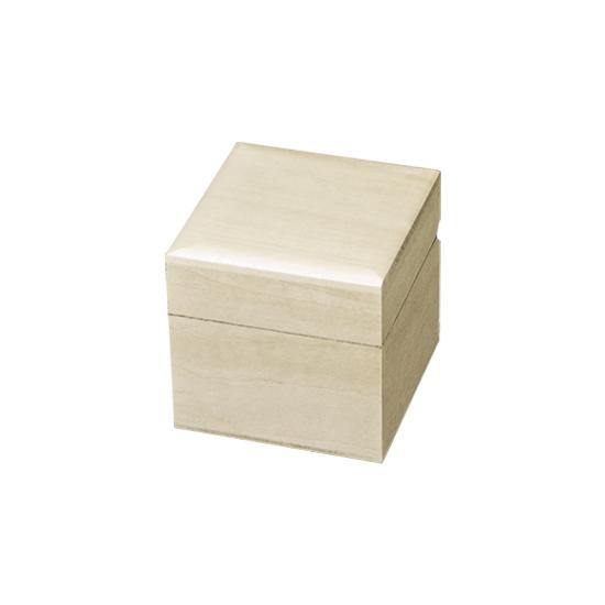 Cubic Box - Raw Unfinished Wood