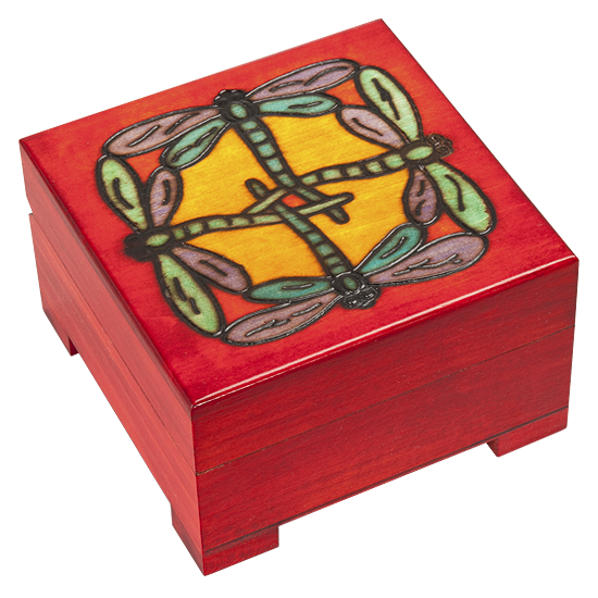Dragonflies - Polish Wooden Box