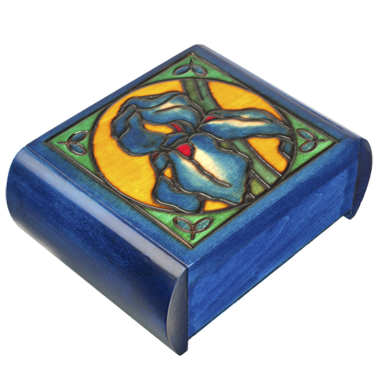 Iris Secret - Polish Wooden Box